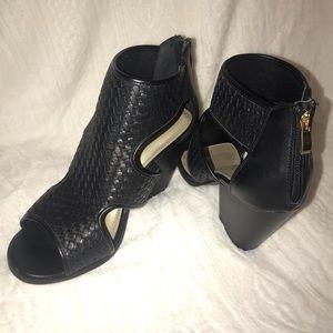 Black Bootie Sandals